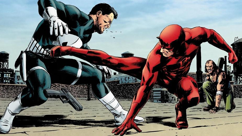 Daredevil i Punisher - Prijatelji ili rivali? Strip Blog