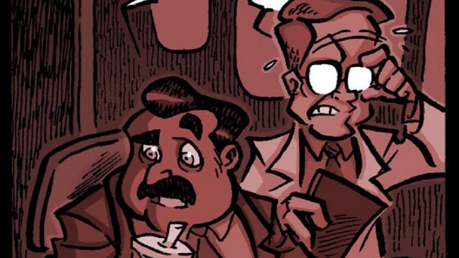 "Nemrtvi Ed epizoda #50: ""Izvan mreže"" Strip Blog"