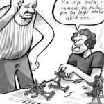 """Strip """"Dan igrački – vojnika"""" autorke Mihaele Erceg!"""