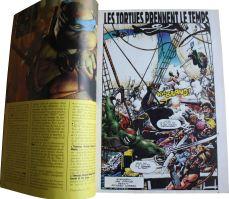 """""""Les Tortues prennent le temps"""", un récit de Jan Strnad illustré par Richard Corben."""
