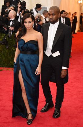 I'm not usually a huge fan of Kim Kardashian's style (granted last year she was pretty prego), but this year I think she got it right. It's understated rather than extravagant, which is a style she needs to go with more often. Plus, the sideswept hair was really killin' it this year. { Lanvin }
