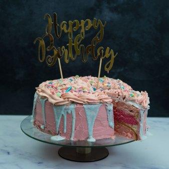 Taart gemaakt voor verjaardag