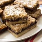 jam crumble bars recipe