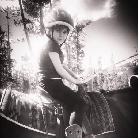 Katie horseback riding