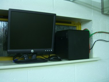 Microserver and monitor