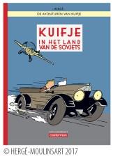 Cover van Kuifje in het land van de Sovjets in kleur