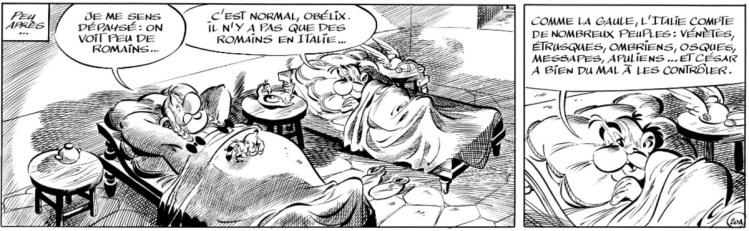 De nieuwe bestemming voor Asterix: Italië