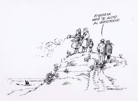 Cartoon van Jan Kruis