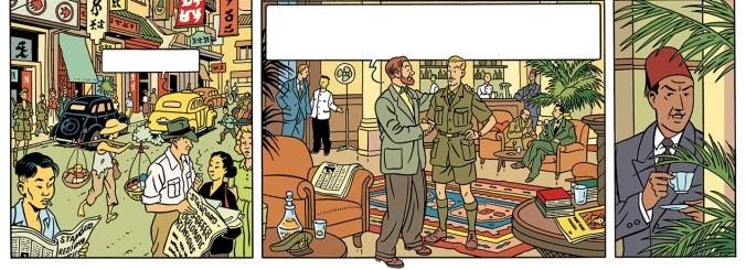 Blake en Mortimer door Peter van Dongen.