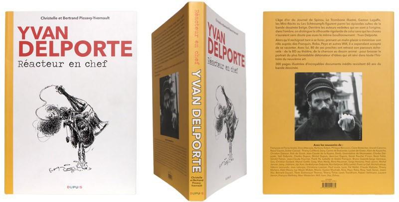 Yvan Delporte - Couverture et dos - (c) Stripologie.com