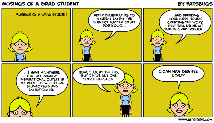 Musings of a Grad Student