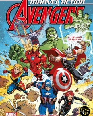 Marvel Action Avengers 4 AIM aan de macht