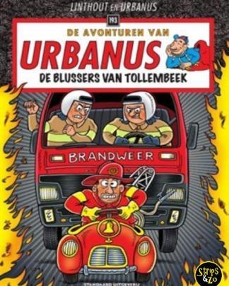 Urbanus 193 De blussers van Tollembeek