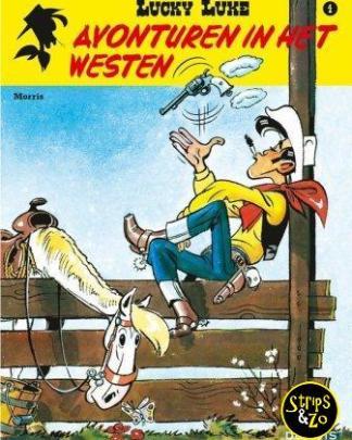 Lucky Luke - Relook 4 - Avonturen in het Westen