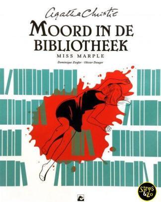 Agatha Christie SC - Miss Marple - Moord in de bibliotheek
