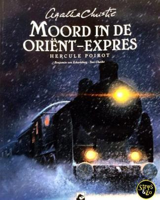 Agatha Christie SC - Hercule Poirot - Moord in de Oriënt-Expres