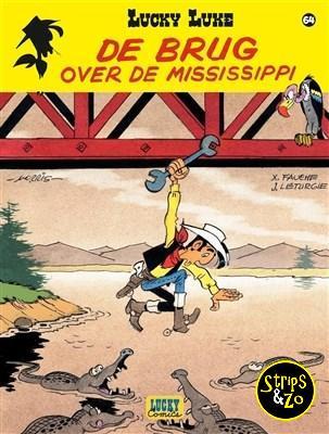 Lucky Luke - Relook 64 - De brug over de Mississippi