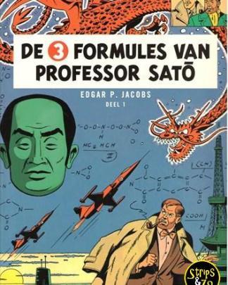 Blake en Mortimer 11 - De 3 formules van prof. Sato deel 1