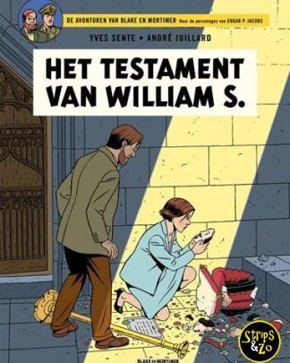 Blake en Mortimer 24 - Het testament van William S.