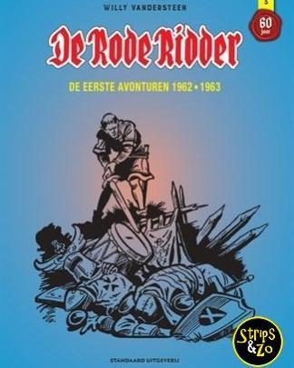 Rode Ridder - Integraal 3 - De eerste avonturen 1962 - 1963