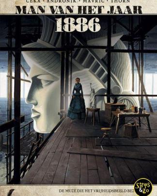 Man van het Jaar 11 - 1886 - De Muze die het vrijheidsbeeld inspireerde