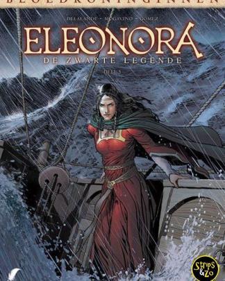 Bloedkoninginnen 9 - Eleonora 5 - De zwarte legende 5