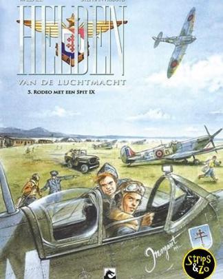 helden van de luchtmacht 5 Rodeo met een Spit IX