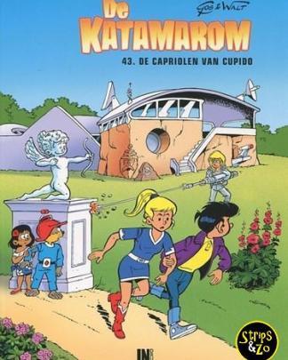 Katamarom, De 43 - De capriolen van Cupido