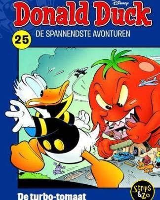 donald duck spannenste momenten 25 de turbo tomaat
