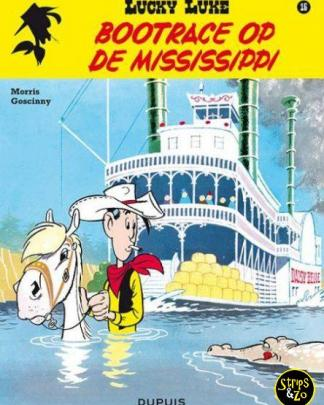 Lucky Luke - Relook 16 - Bootrace op de Mississippi