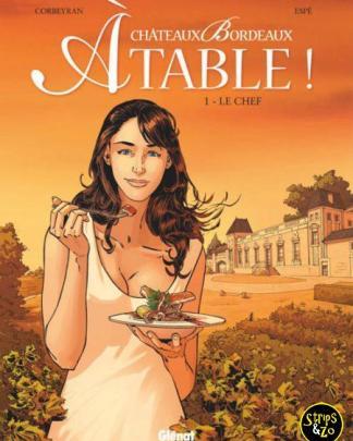 Chateaux Bordeaux Aan Tafel 1 De Chef