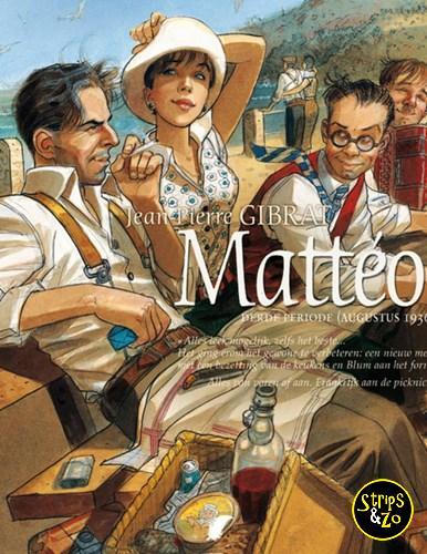 Matteo 3 Derde periode augustus 1936