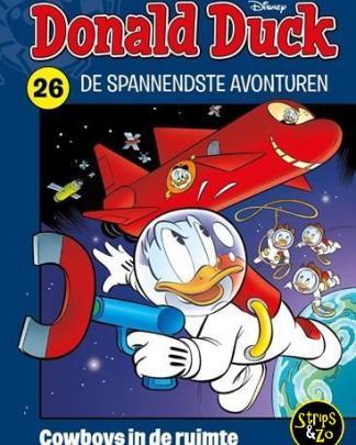 Donald Duck Spannendste avonturen 26 Cowboys in de ruimte