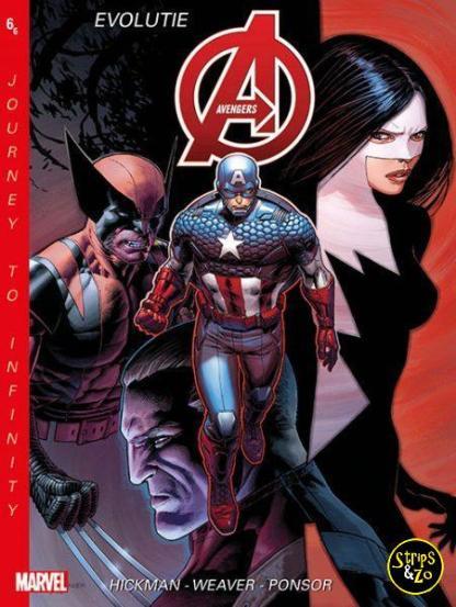 New Avengers Journey to Infinity 6 Evolutie 2