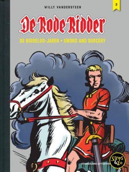de rode ridder de biddeloo jaren 2 integraal luxe
