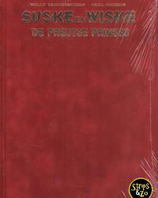 Suske en Wiske De Preutse Prinses Luxe