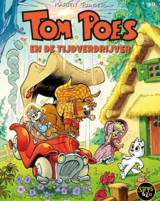 Tom Poes 10 En de tijdverdrijver