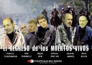Telam 20/12/04: LEVANTAMIENTO POPULAR DEL 19 Y 20 DE DICIEMBRE DE 2001, que derivó en la caída del gobierno de Fernando de la Rúa. Foto: Enrique Garcia Medina