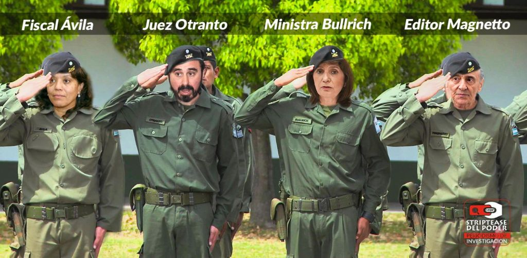 Maldonado, Otranto, Patricia Bullrich, Héctor Magnetto, Avila, Gendarmería,