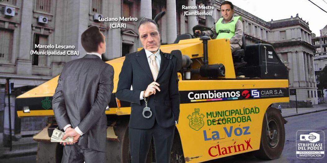 Mestre,Macri, Lava Jato, Marcelo Lescano, Luciano Marino, Municipalidad de Córdoba, Cambiemos,
