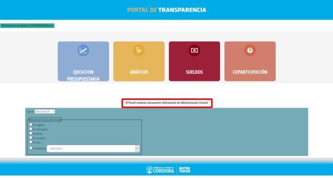 CIPPEC, Juan Manuel De La Sota, Córdoba, Juan Schiaretti, Centro de Implementación de Políticas Públicas para la Equidad y el Crecimiento, Transparencia