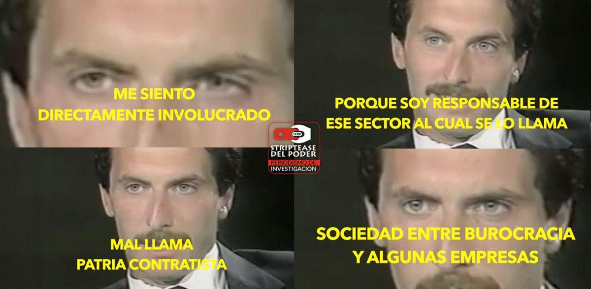 """Video: Mauricio Macri en 1990 confesó integrar la patria contratista, """"asociación de la burocracia con algunas empresas"""""""