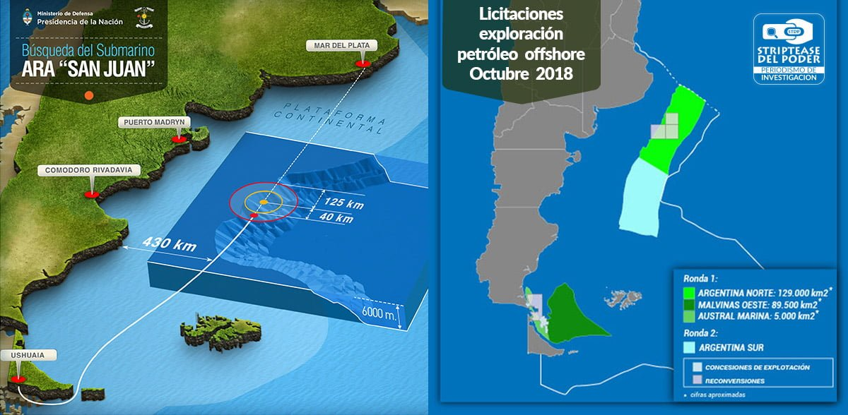 ARA SAN JUAN: las macabras mentiras y negocios petrolíferos del Gobierno con la compañía inglesa Ocean Infinity