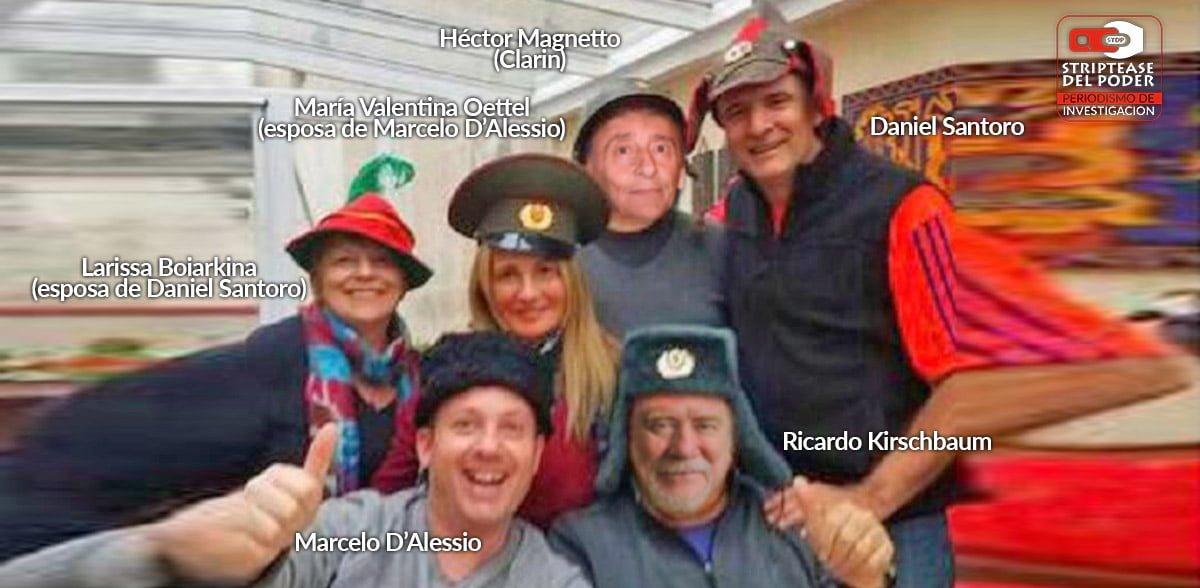 Periodismo de guerra: el agente encubierto Marcelo D'Alessio de la DEA columnista de Clarín