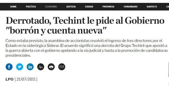 Coronavirus, Techint, ANSES, Obreros, Despidos, Fondo de Garantía de Sustentabilidad, Ternium, Gobierno, Paolo Roca, Acero