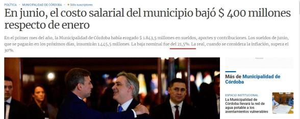Schiaretti, el intendente Llaryora, LGBT, Municipales, Despidos, Sindicatos, Córdoba, Bandera Orgullo Gay, infectadura, cordobesismo, Peronismo