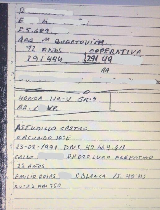 Facundo Castro Astudillo, Santiago Maldonado, Policia Bonaerense, Gendarmeria, Gobierno Nacional, desaparición, Berni, Bullrich, Alberto Fernandez