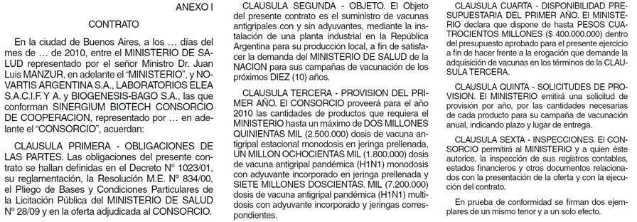 Sigman, Vizzotti, Sinergium Biotech, vacuna H1N1, gripe A