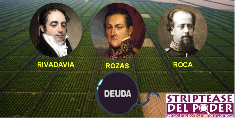 La maldición argentina (2): los latifundios y sus artífices, la deuda y las 3R