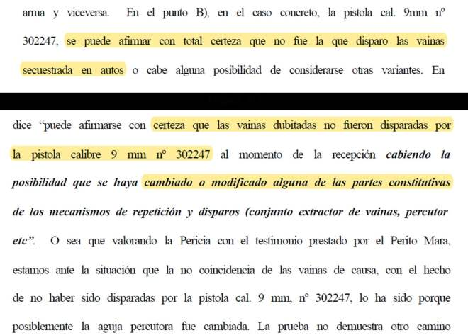 Caso MAders, Hugo Síntora, Justicia Córdoba